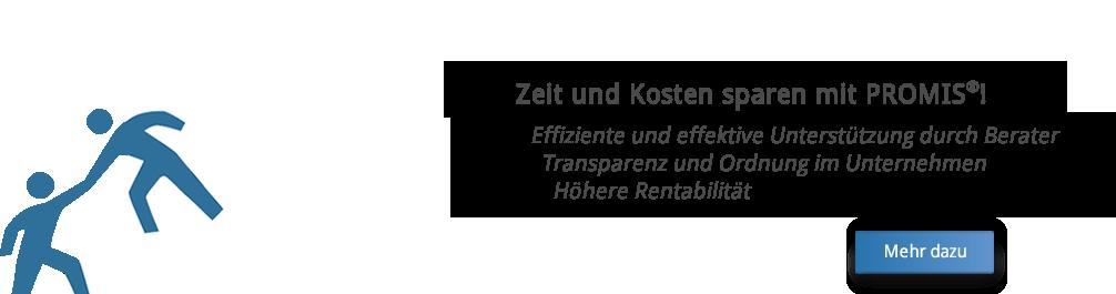 Spart Zeit und Kosten | Integrierte Rechtskonformität | PROMIS